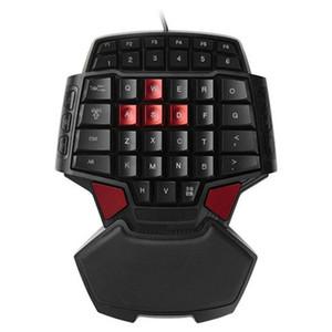 T9 Wired Single-handed Gaming teclado portátil de uma mão Gamepad Jogo Keypad