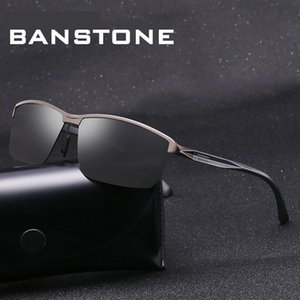 BANSTONE Motorista Óculos Homens óculos polarizados Sport Classic Eyewear UV400