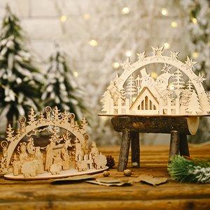 هاو لوازم العيد خشبية ديي أجوف التدريجي خلاقة البرلمان الجديد هاو عيد الميلاد لوازم العيد خشبية Diydiy أجوف التدريجي الإبداعية جمهورية إيشكريا الشيشانية جديدة