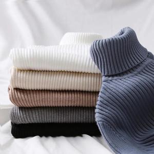 Turtleneck GUMPRUN Winter-Frauen gestrickte 2020 Herbst beiläufige dünne Pullover Pullover Frauen Langarm Elastizität Sweater