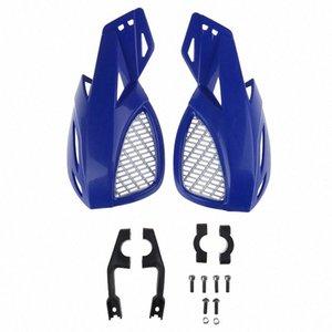 Hand Guard Protector Moto Dirt Bike ATV 22 millimetri manubrio 2pcs / set (sinistra e destra) guardia moto con kit di installazione 24x2 #