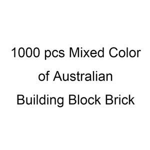 1000 개 혼합 색상 교육 DIY 대량 호주의 빌딩 블록 벽돌 유치원 추천 인기 장난감입니다 스타터 명령