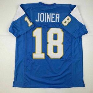 Divisa cheapcustom Charlie Joiner personalizzato qualsiasi numero nome cucito Jersey XS-5XL