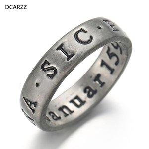 DCARZZ L'ultimo dei gioielli delicato anello di Uncharted gioco Easter Punk gotico di Us Anelli Nathan Drake iniziale regalo delle donne anello del partito