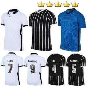 Men kids Corinthians soccer jerseys 2020 2021 Corinthian camisetas goalkeeper GIL RONALDO LUAN FAGNER PEDRINHO 20 21 NETO kit FOOTBALL SHIRT