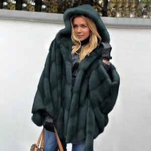S-5XL Mink Winter Imitation Fur Women's Warm Top Elegant Thick New Fashion Ladies Coat Sale Shipping 200921
