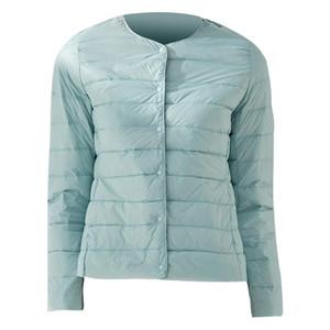 Ultra Light Duck Down Women Matt Fabric Lightweight Coat Warm Female Windbreaker Parka Women's Down Jackets Plus Coats