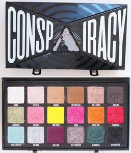 2020 العلامة التجارية خمس نجوم J ستار س شين داوسون الأزرق الدم Consp iracy عينيه لوحة 18 لون لامع لامع جودة عالية لوحة ماكياج