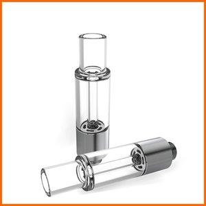 Yeni Bütün Cam Yuvarlak Ucu Vape Kartuşları Vape Tankı Vape Kalem Atomizer Özel Ambalaj Buharlaştırıcı
