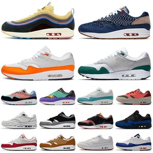 air max 1 87 airmax 1s 87s 운동화 남성 여성 des chaussures 남성 트레이너 스포츠 운동화