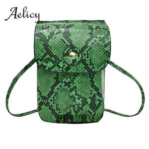 Aelicy Moda Crocodile Pattern Couro Cintura Tampa Pacote de alta qualidade Mensageiro Shoulder Bag Feminino Praça Crossbody Belt Bag