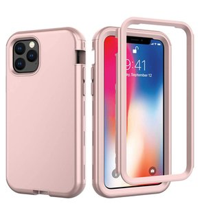 3 in 1 High impact Drop resistance Case For iPhone 11 Pro Max Rugged Armor Cove
