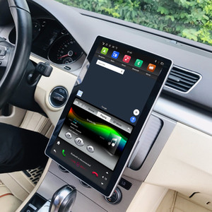 "1920 * 1080 IPS tela de 6-Core PX6 2 din 12,8"" Android 9.0 Universal Car dvd Radio GPS Chefe Unidade Bluetooth 5.0 Wi-Fi USB Easy Connect"