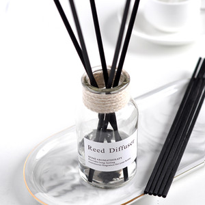 No Fire Aromatherapy Home fragrance glass bottle essence reed diffuser for Home Office Car Hotel Air Fresheners V1