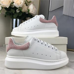 Meilleure qualité Hommes Casual Chaussures Casual Femme Classic Baby Rose Cuir Baskets Sneakers surdimensionnés Espadrilles Plateforme Chaussures Chaussures Plateau Chaussures