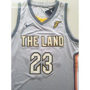 Ucuz 546 Basketbol Spor Formalar Spor Land # 23 En Dikişli Jersey S-xxl