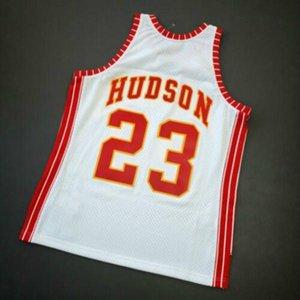 Cosido Mitchell Ness 72 73 Lou Hudson de New Jersey Tamaño XS-5XL baloncesto superior 100%