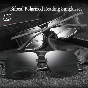 2020 Real Leesbril Bifocal Polarized Reading Sunglasses +0.75 +1 +1.5 +1.75 To +3.75 See Near And Far Retro Pilot Large Frame