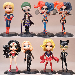 PVC Action Figure Toy Clown Girl Clown Man Kui Incredible Woman Hand-made Cake Doll Decoration