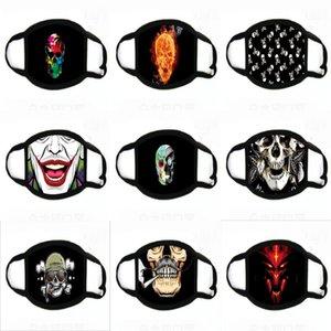 6 Camada Fa Mask RIANDO Vae máscaras protetoras Dener Fa impressão Mascerine Fasion Falta Individl Pack # 671