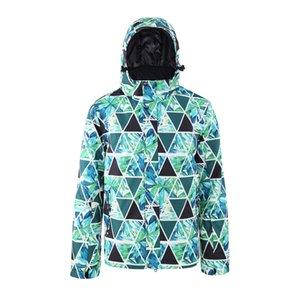 Ski Jacket Men Skianzug Thermal Wärme Skifahren Snowboarden Winter Outdoor Kapuze Winddichtes Größe Sport Damenkleidung