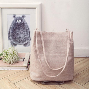 Vintage Fashion Books Travel Bags Eco Reusable Foldable Women Shoulder Bag Shopping Bags Linen Tote Womens Handbags Purse