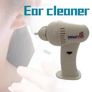 Emniyet Ağrısız Elektronik Kulak Elektrikli Süpürge Kulak Wax Remover Emniyet Yumuşak Bakım Şarjlı Aracı