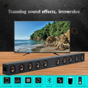40W Bluetooth Speaker Hifi home surround system stereo cable and wireless PC cinema TV speaker subwoofer RAC AUX