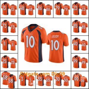 DenverBroncosMen #13 K.J. Hamler 10 Jerry Jeudy 3 Drew Lock 30 Phillip Lindsay Custom Women YouthNFL Limited Football Jersey
