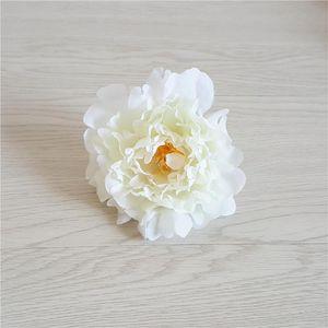 DIY 15cm Artificial Flowers Silk Peony Flower Heads Wedding Party Decoration Supplies Simulation Fake Flower Head Home Decor