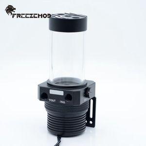 FREEZEMOD Full Metal Pump Box 1100L / H Magnetic Suspension Pumpe Wassertank Combo Integrierte PWM Intelligent Control-Wasser-Kühler