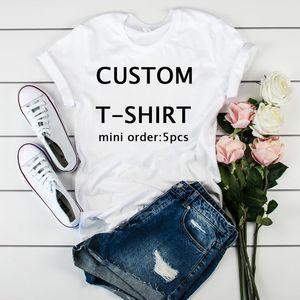 Kadınlar Grafik Özel Kısa Kollu Moda Kendi Tasarım DIY Blank Bayanlar Üst Tişört Kadın Kadın Giyim T Tee Gömlek Tişört C200919 yazdır
