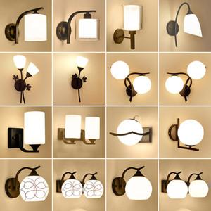 현대 실내 LED 벽 램프 침대 옆 침실 새해 보루 전구 인테리어 머리판 홈 호텔 벽 조명