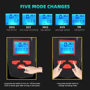 3 in 1 Bicycle Light USB Rechargeable Odometer Bike Front Light Bicycle Handlebar Cycling Head LCD Screen