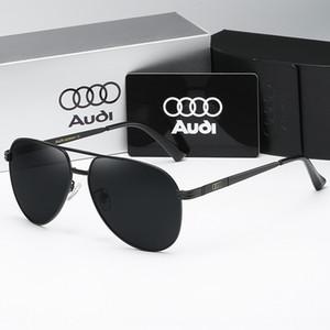 6pujL 2020 soleil nouveau mode soleil hommes lunettes polarisées Audi lunettes mode grande monture de lunettes 558 pieds de printemps des lunettes de soleil Audi