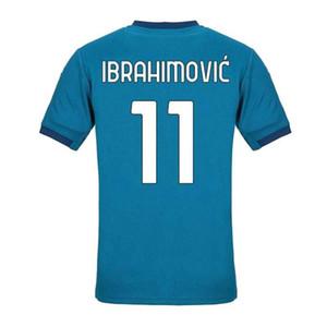 2020 misura 11 Ibrahimovic 19 THEO qualità tailandese del pullover di calcio Shirts Top 17 R.LEAO 10 Calhanoglu 7 S.CASTILLEJO 39 uomini Paquetá a basso costo