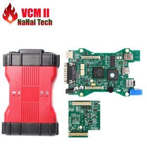 2020 más nueva VCM 2 dianostic explorador multilingue V101 VCM2-E IDS herramienta de diagnóstico del VCM II VCMII OBD2 Para Frd / M-azda