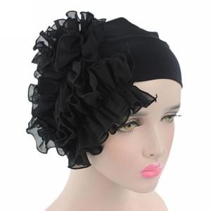 Mooistar #4022D Women Flower Cancer Chemo Hat Beanie Scarf Turban Head Wrap Cap Bonnet Headdresses