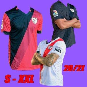 Taille S-XXL 2020 Rayo Vallecano jerseys maison loin maillots de football Alex Moreno 20 21 nouvelles SAD Rayo Vallecano 3EME chemises de football