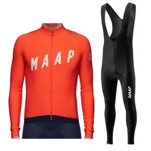 2020 Pro Team MAAP Radtrikot Ste Ropa Ciclismo Hombre Triathlon Radfahren Set MTB Bekleidung Trägerhose Set