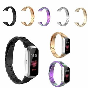 Replacement Stainless Steel Wrist Strap For Samsung Fit Bracelet Metal Luxury Watchband Bracelet For Samsung Galaxy Fit R370