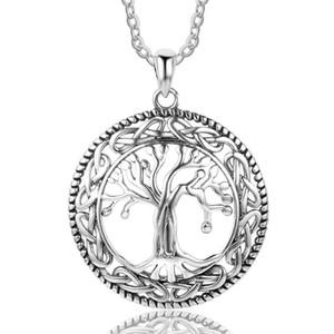 Vintage albero FDLK Classic Of Life pendenti di collana di modo di colore dell'oro delle donne di colore dell'argento monili dei pendenti Per Madre migliore regalo