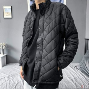 20s New Fashion Men Hot Jacket Casual Sport Streetwear Mens Womens Jackets Down Warm Tops Quality Jacket Coat Lattice Size M-3XL