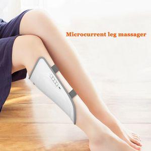 Pernas EMS elétrica Leg Massager Air Compression Terapia Slimming Belt Saúde Outdoor Início Car Massagem Relaxante