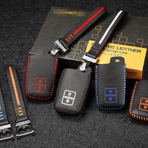 For Toyota Hilux Camry Prado FJCruiser LAND CRUISER highlander Car Key Bag Leather key cover car car accessories