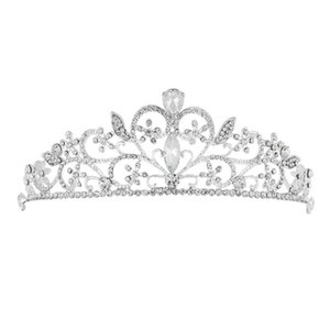 New Fashion Retro High-end Baroque Sweet Heart-shaped Crown Headband Headgear Decoration (Handmade)   Wedding and Special Occasions