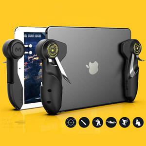 Contrôleur PUBG Jeu mobile pour Ipad Tablet Six Finger manette de jeu poignée Bouton But L1R1 Shooter Gamepad Trigger