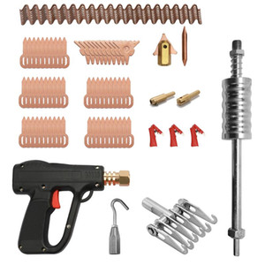 81pcs Dent Puller Tool Kit Car Body Fix Tools Spot Welding Electrodes Spotter Welders Machine Removing Dents Remover Device