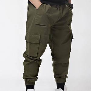 Pantaloni da uomo primavera uomini sciolti autunno più pantaloni cargo di dimensioni 6XL 7XL pile casuale stile pantaloni