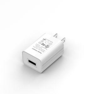 carregador de parede carregadores 5V1A Para iphone US FCC UL Certified USB Charger alta qualidade para Samsung